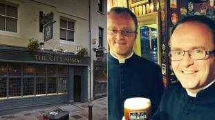Seven priests walk into a bar...no it's not a joke