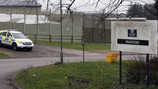 Five officers injured after prison violence at Erlestoke