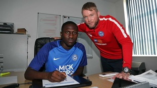Idris Kanu will be involved with Peterborough's first team.