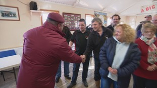 Jersey veteran reunited with Falkland islanders he helped liberate