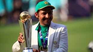 Sarfaraz Ahmed led Pakistan to victory in the ICC Champions Trophy