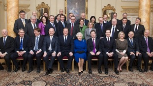 The Queen and her Cabinet