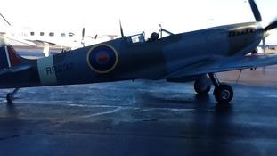 Restored spitfire
