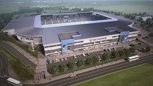 This is what the proposed stadium at Frenchay campus would look like.