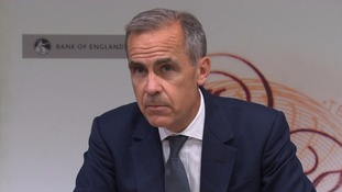 Carney said an 'element of Brexit uncertainty' was affecting wage growth