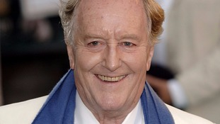 Robert Hardy played Minister of Magic Cornelius Fudge in the Harry Potter film series.