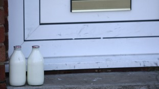 Raw milk warning after four people fall ill