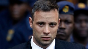 Oscar Pistorius was taken to hospital with alleged chest pains.