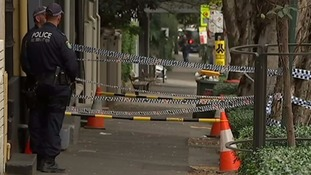 Four men were arrested in the Surry Hills area of Sydney.