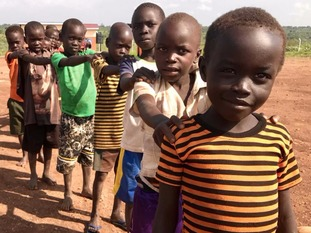 Six hundred thousand refugees are children and most arrive without any parents.