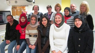 Iraqi students at Sheffield Teaching Hospitals