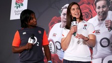 Sarah Hunter is captaining England in this year's Rugby World Cup.