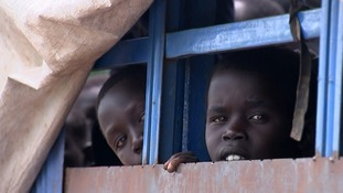 The number of refugees who have fled to Uganda is close to one million.