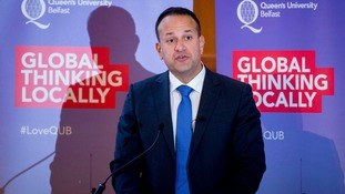 Irish PM Leo Varadkar: 'I do not want an economic border'