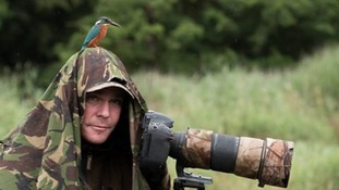 Alan McFadyen was taking pictures by the River Tarff