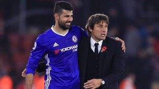 Chelsea dismiss 'nonsense' claims that Diego Costa is being forced out by manager Antonio Conte