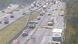 Fuel spill on M5 causing hours of delays