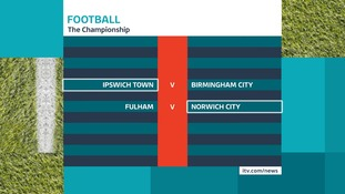 The opening fixtures in the Championship