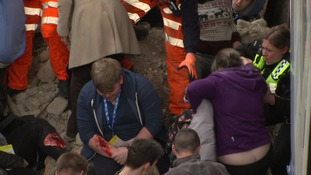 The council took part in disaster response role plays in 2016.
