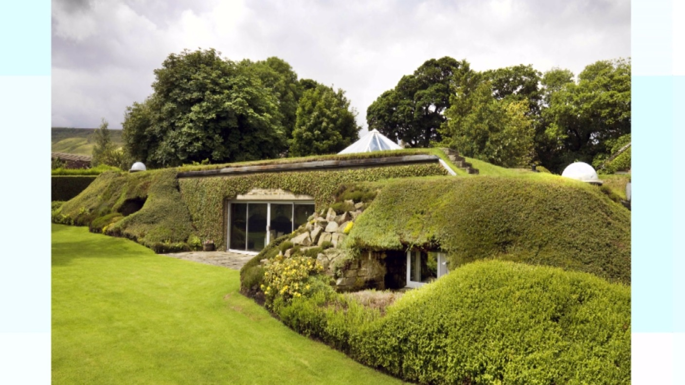Earth Sheltered Homes Plans Underground House In West Yorks Gets Grade Two Listed