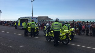 Police patrols at Brighton Pride