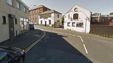 Junction of Glebe Road and Upper Dunmurry Lane