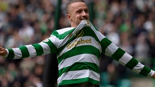Leigh Griffiths hits a brace as Celtic hammer Hearts 4-1 in Scottish Premiership opener