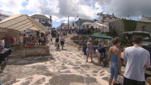 Coverack open for business after flash flooding