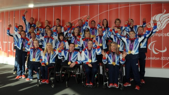 Great Britain's Paralympic medal winners