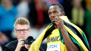 Usain Bolt has no regrets after disappointing farewell at London Stadium
