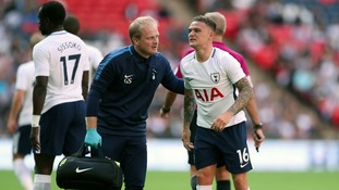 Trippier is Spurs' first choice right back after Kyle Walker.