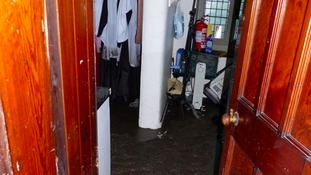 Flooded vestry
