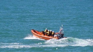 Fears grow for missing men after one dies in boat sinking in English Channel