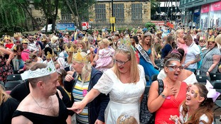 Princess power as world record smashed in Wakefield
