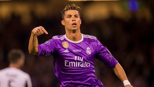 Ronaldo in Real Madrid squad to face Man United