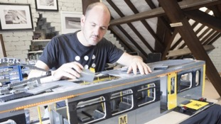 Locals work with Lego architect to make model Metro