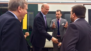 Chris Grayling opened the new Cambridge North Station