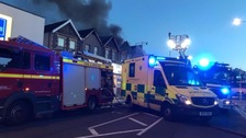 fishponds fire