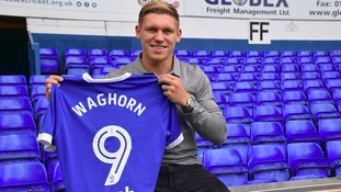 Martyn Waghorn has been given the number nine shirt at Portman Road.