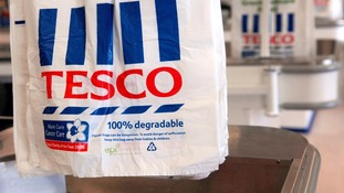 Tesco scraps plastic bags in favour of 'bags for life'