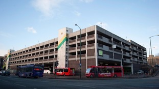 Broadmarsh car park and bus station