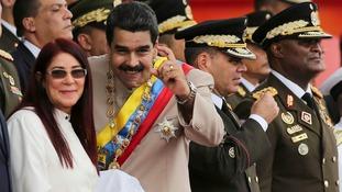 Jeremy Corbyn condemns Venezuelan violence but refuses to criticise President Nicolas Maduro