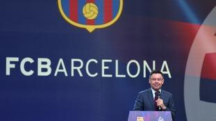 Barcelona president Josep Bartomeu says 'no player is bigger than the club'