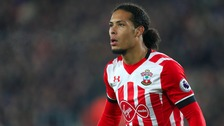 Van Dijk joined Southampton from Celtic in 2015.