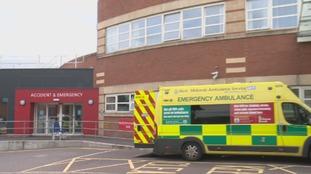 Patients waiting on trolleys in corridors has become 'standard practice', inspectors said