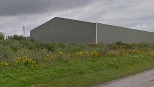 The boy was playing on the Lune industrial estate in Lancaster at the time.