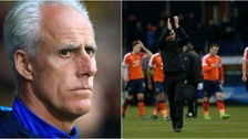 Mick McCarthy (left) and Nathan Jones (right) will go head-to-head later.