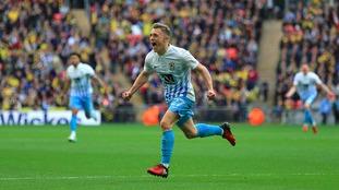 George Thomas celebrates at Wembley