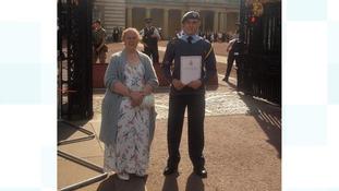 Longbenton Air Cadets receive royal award