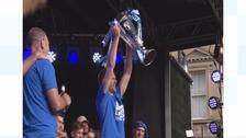 Huddersfield Town's captain Mark Hudson